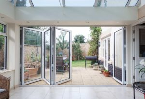 Aluminium bifold doors aldershot